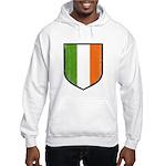 Irish Flag Crest Hooded Sweatshirt