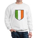 Irish Flag Crest Sweatshirt