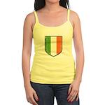 Irish Flag Crest Jr. Spaghetti Tank