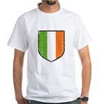 Irish Flag Crest White T-Shirt