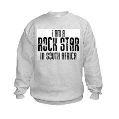 Rock Star In South Africa Sweatshirt