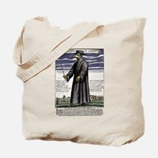 The Plague Doctor. Tote Bag