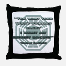I Want My Kidney Throw Pillow
