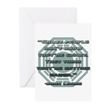 Crazy People Greeting Cards (Pk of 20)