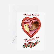 Britany Spaniel Valentine Card