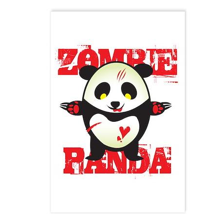 Zombie Panda Postcards (Package of 8)