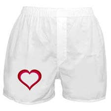 Red and Pink Heart Boxer Shorts