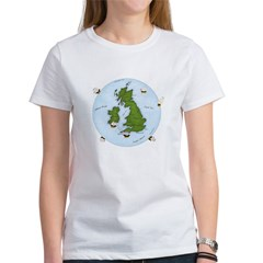 The World (England) Map Tee