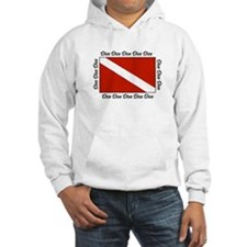 Funny Diver down Hoodie