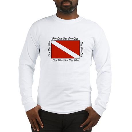 dive_flag10x7_5 Long Sleeve T-Shirt