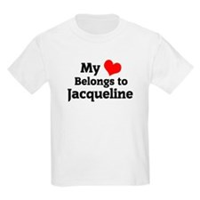My Heart: Jacqueline Kids T-Shirt