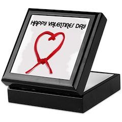 HAPPY VALENTINES DAY Keepsake Box