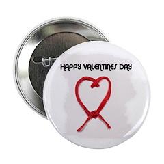 HAPPY VALENTINES DAY Button