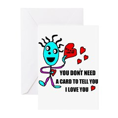 HAPPY VALENTINES DAY Greeting Cards (Pk of 10)
