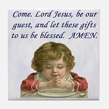 Come Lord Jesus Tile Coaster