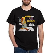 Clean Air Black T-Shirt