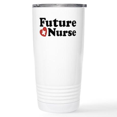 Future Nurse Stainless Steel Travel Mug