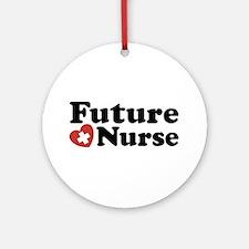 Future Nurse Ornament (Round)