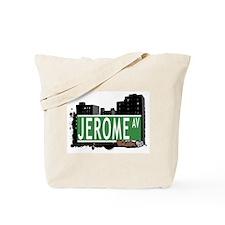 Jerome Av, Bronx, NYC Tote Bag