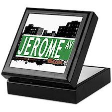 Jerome Av, Bronx, NYC Keepsake Box