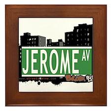 Jerome Av, Bronx, NYC Framed Tile