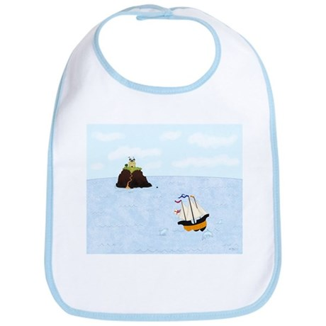 Sailing by the Castle Bib