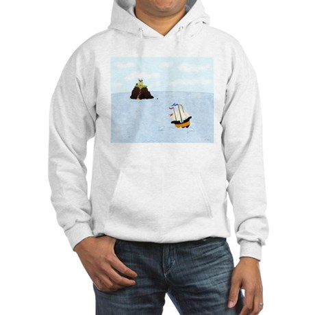 Sailing by the Castle Hooded Sweatshirt