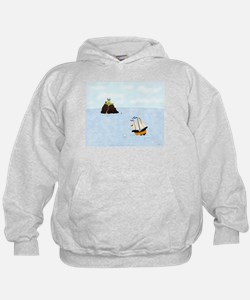 Sailing by the Castle Hoodie