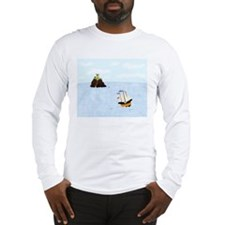 Sailing by the Castle Long Sleeve T-Shirt