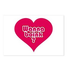 Wanna Boink? Postcards (Package of 8)