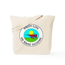Enjoy Life Go Hang Gliding Tote Bag