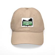 Johnson Av, Bronx, NYC Baseball Cap