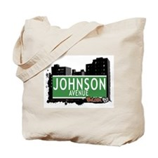 Johnson Av, Bronx, NYC Tote Bag