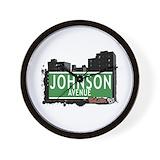 Bronx johnson ave Wall Clocks