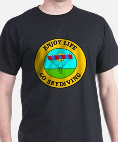 Enjoy Life Go Skydiving T-Shirt