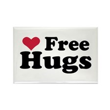 Free Hugs Rectangle Magnet (100 pack)