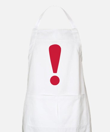 Exclamation point Apron
