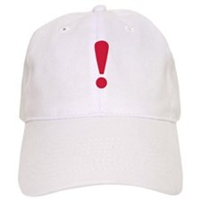 Exclamation point Baseball Cap