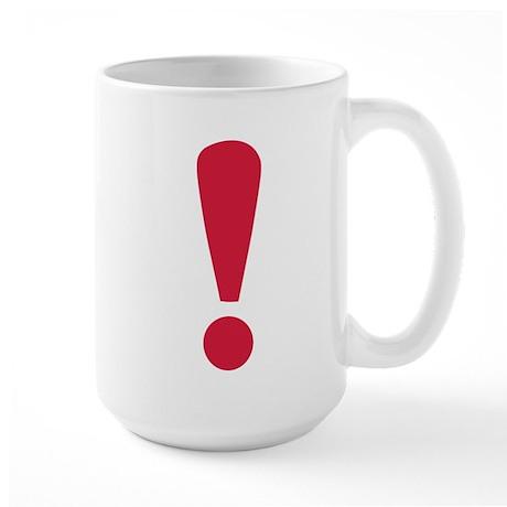 Exclamation point Large Mug