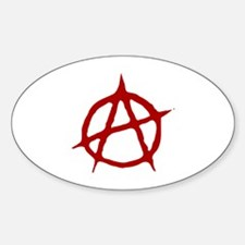 Anarchy Oval Decal