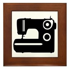 Sewing machine Framed Tile