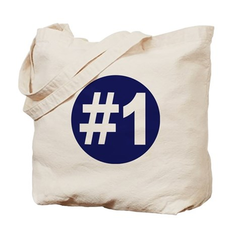 No. 1 Tote Bag