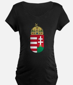 Hungary Coat of Arms (Front) T-Shirt