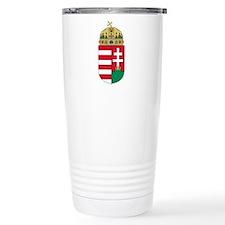 Hungary Coat of Arms Travel Mug