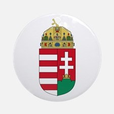 Hungary Coat of Arms Ornament (Round)