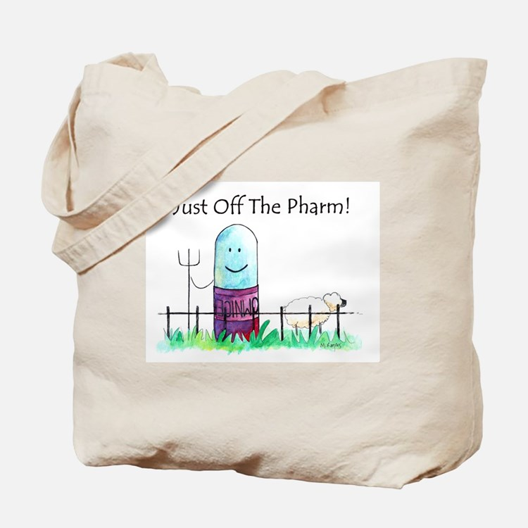 Cute Pharmacy funny Tote Bag