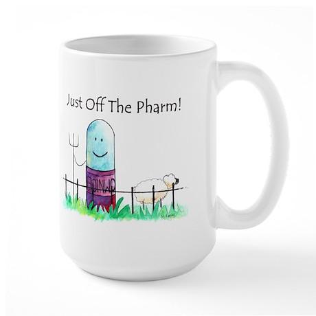 just off the pharm_0008 Mugs