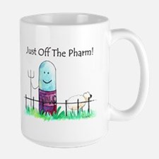 just off the pharm_0008 Mugs