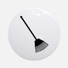 Rake Ornament (Round)