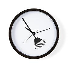 Rake Wall Clock